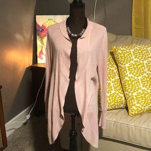 Soft Pink cocoon cardigan